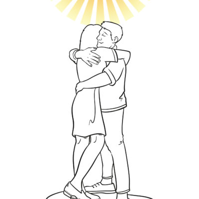 21 - Hugging with Sunshine